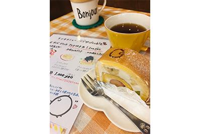 バースデーケーキはネットのスイーツガイドからも予約が可能です。