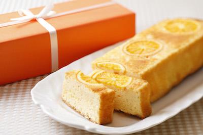 オレンジケーキ。