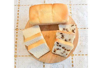 小麦・乳製品不使用の米粉シフォンケーキ。