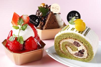 みずみずしい生ケーキ各種。世代を超えて喜んでいただける優しい味。
