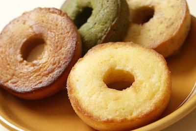 お子様にもおススメ。身体にやさしい米粉のドーナツ
